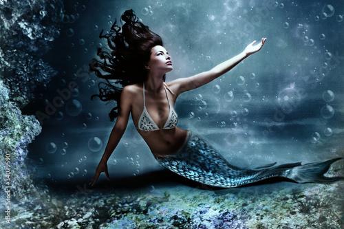 Canvas Print mermaid