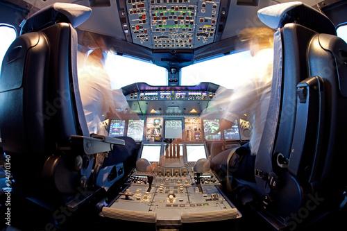 Fotomural Cockpit
