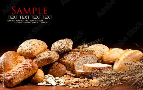 Obraz na płótnie baked goods