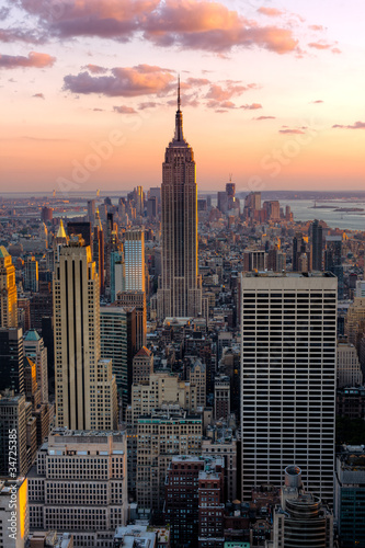 Photo New York Empire state building