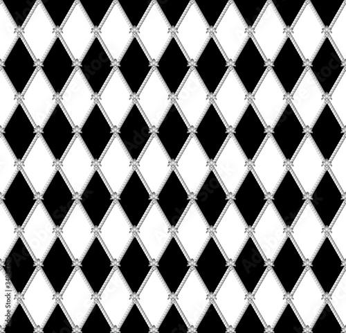 Obraz na płótnie black a white seamless background