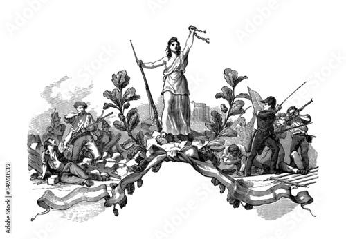 Tablou Canvas French Revolution