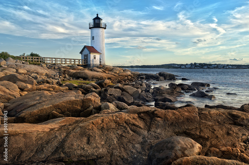 Obraz na płótnie Annisquam lighthouse in Massachusetts