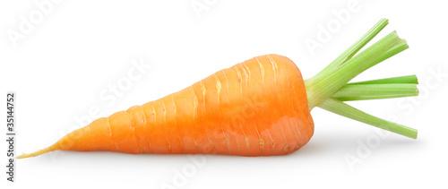 Obraz na płótnie Isolated carrot