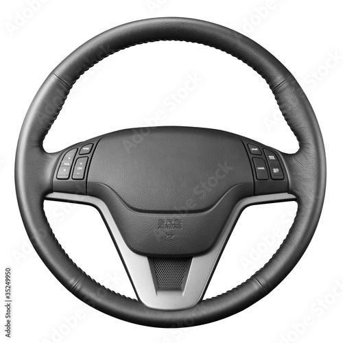 Photo Steering wheel.