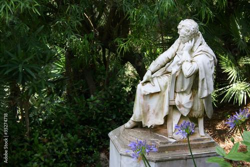 Carta da parati Lord Byron sculture