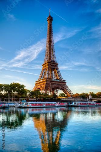 Wieża Eiffla Paryż Francja