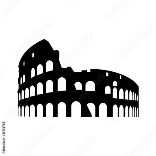 Kolosseum Rom Poster Mural XXL