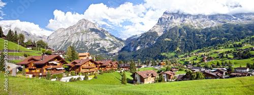 Grindelwald Village Panorama #36009723