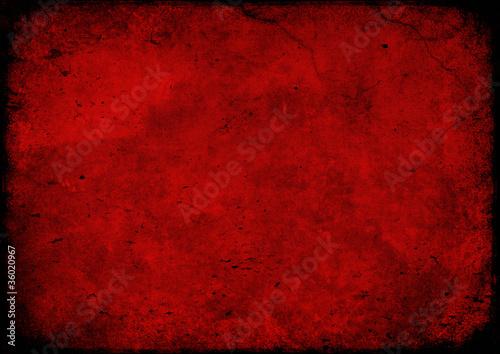 Texture grunge red Fototapeta