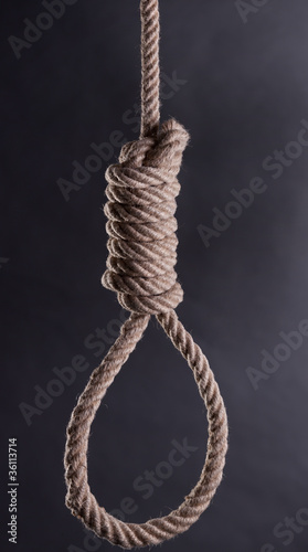 Slika na platnu Hi-res hangman's noose
