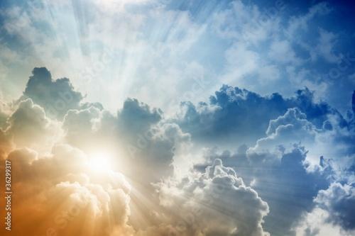 Fototapeta premium Piękne niebo
