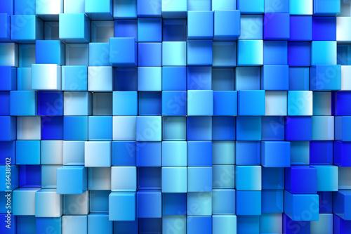 Niebieskie tło pola