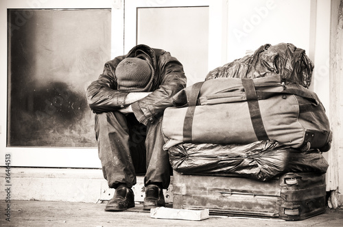 Fotografiet homeless