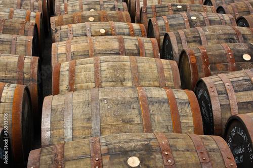 Whisky Barrels IV Fototapet