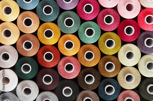 Obraz na plátne Sewing threads