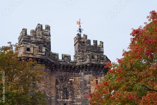 Stampa su Tela Lancaster castle gates (UK)