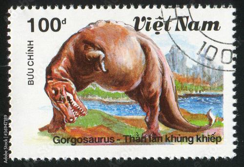 Платно Gorgosaurus