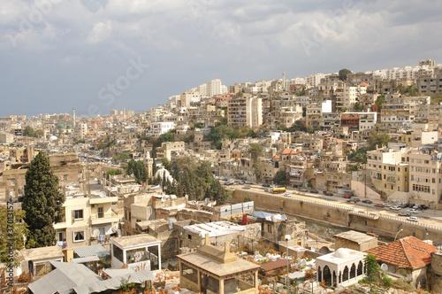 The city of Tripoli in North Lebanon.