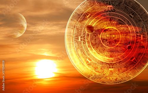 Carta da parati Maya prophecy