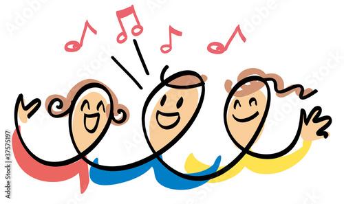 Obraz na płótnie Chorus