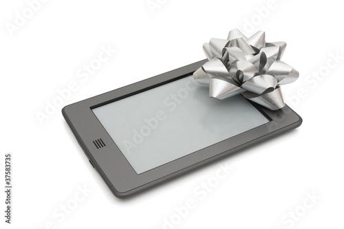 Photo touch e-reader