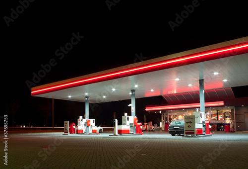Fotografia gas station