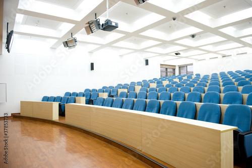 Fotografia empty lecture hall