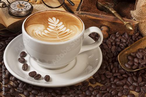 Canvas-taulu Kaffee