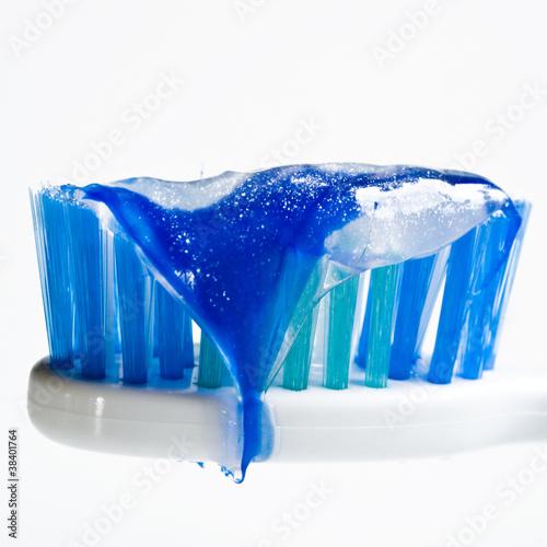Szczoteczka do zębów - zbliżenie