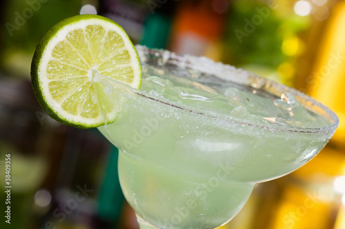 Fotografía margarita cocktail