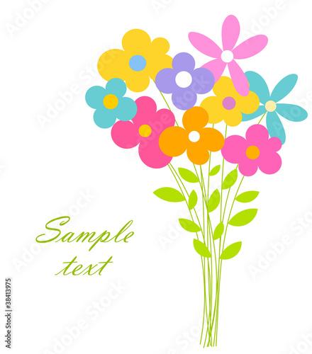 Fotografia Flowers bouquet
