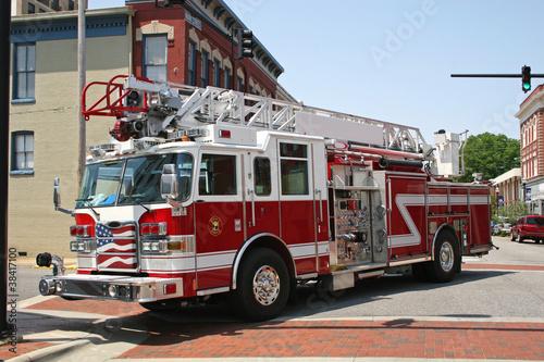 Fototapeta fire engine
