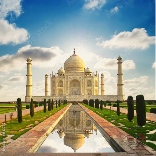 Fotografie, Obraz Taj Mahal in India