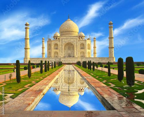 Photo Taj Mahal in India