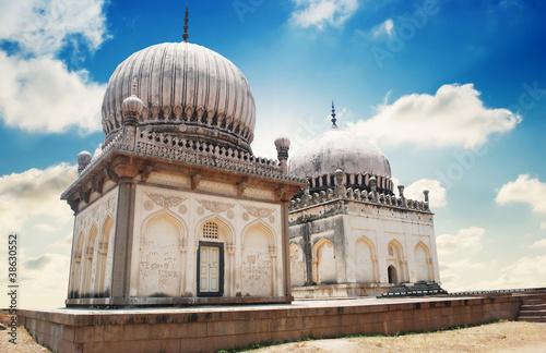 Historic Golkonda fort in Hyderabad city India фототапет