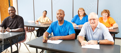 Canvas Print Diversity in Adult Education - Banner