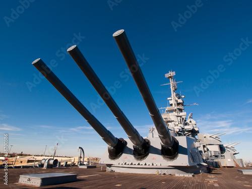 Canvas Print Battleship