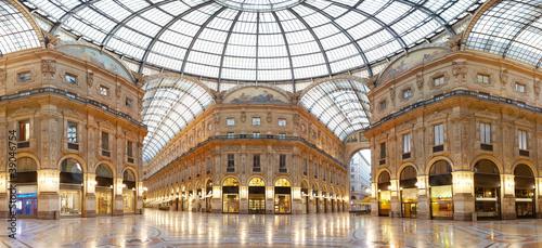 Fototapeta premium Mediolan, galeria Vittorio Emanuele II, Włochy