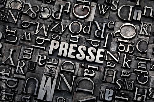 Canvas Print presse