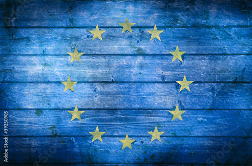 bandiera europa vintage #39250905