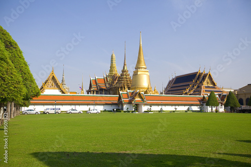 Wat pra kaew Grand palace, Bangkok,Thailand.