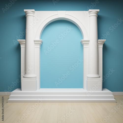 Photo Сolumns with archway