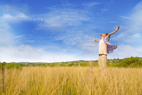Man worship god