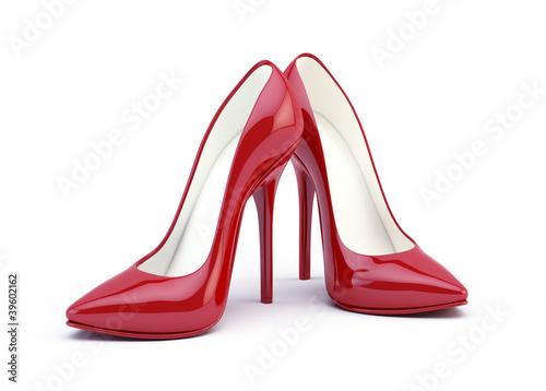 Fototapeta High heel shoes