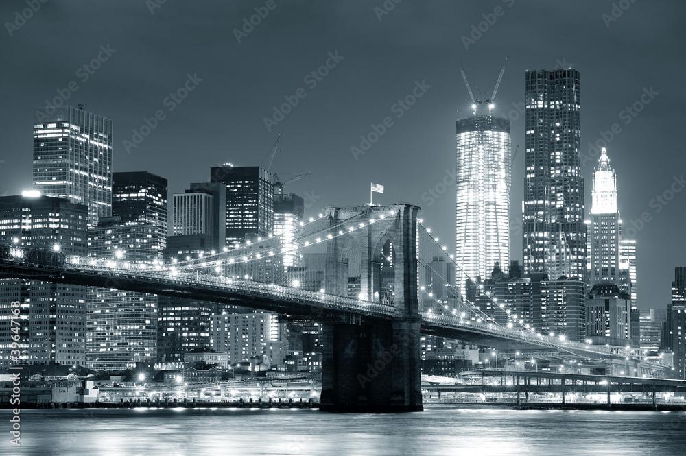 Nowy Jork Brooklyn Bridge <span>plik: #39647168 | autor: rabbit75_fot</span>