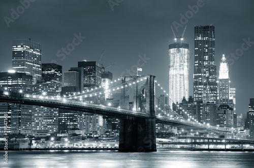 Canvas New York City Brooklyn Bridge