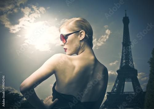 Fotografie, Obraz French beauty
