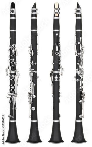 Fototapeta clarinet
