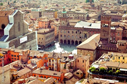 Obraz na plátně Bologna city view, Italy
